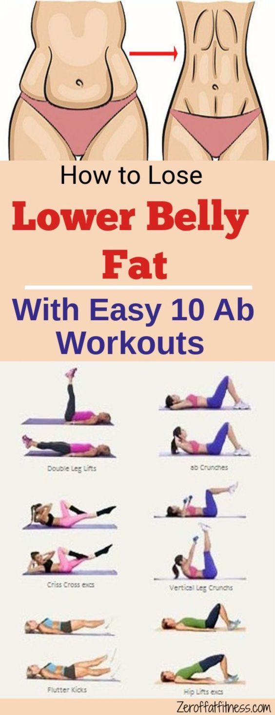 10 Best Ab Workouts to Lose Lower Belly Fat at Home